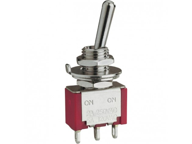 Miniature SPDT Toggle Switch