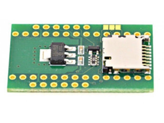 Teensy adaptateur WIZ820io & carte Micro SD