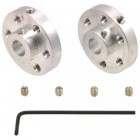 Pololu Aluminum Mounting Hub 6 mm Shaft Pair