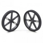 Pololu Wheel 80x10 mm Pair Black