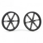 Pololu Wheel 90x10 mm Pair Black