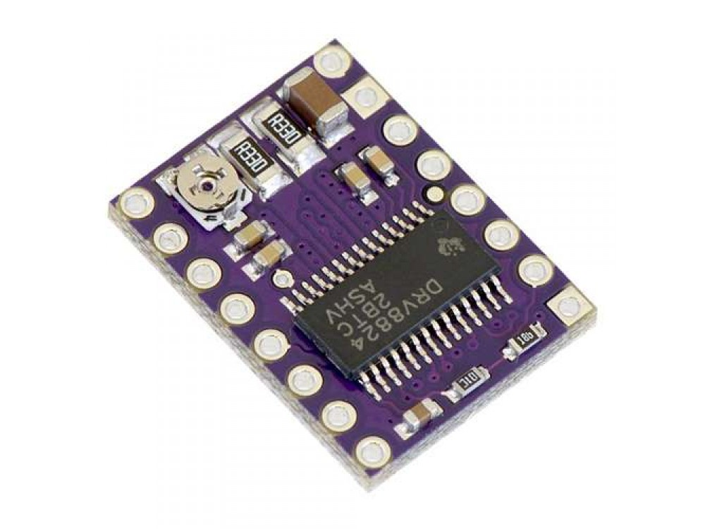 pololu drv8824 low voltage stepper motor controller