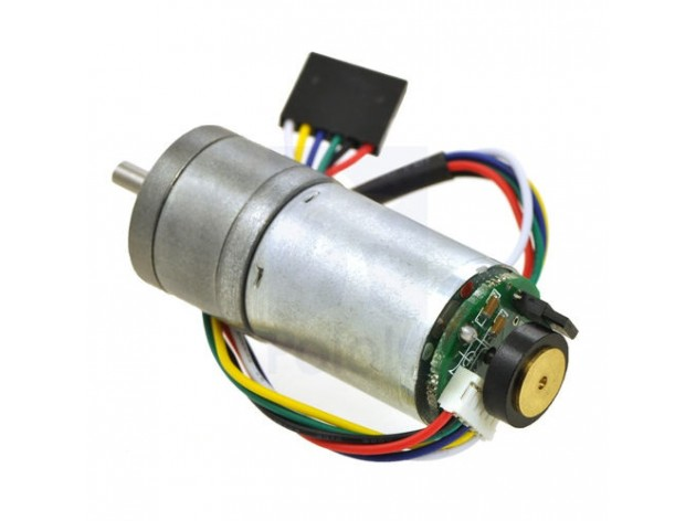 Metal Gearmotor 75:1 25Dx54L mm HP with 48 CPR Encoder