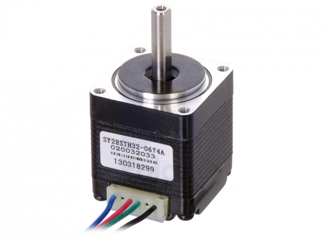 Stepper Motor NEMA 11 - 200 steps 28²x32mm bipolar
