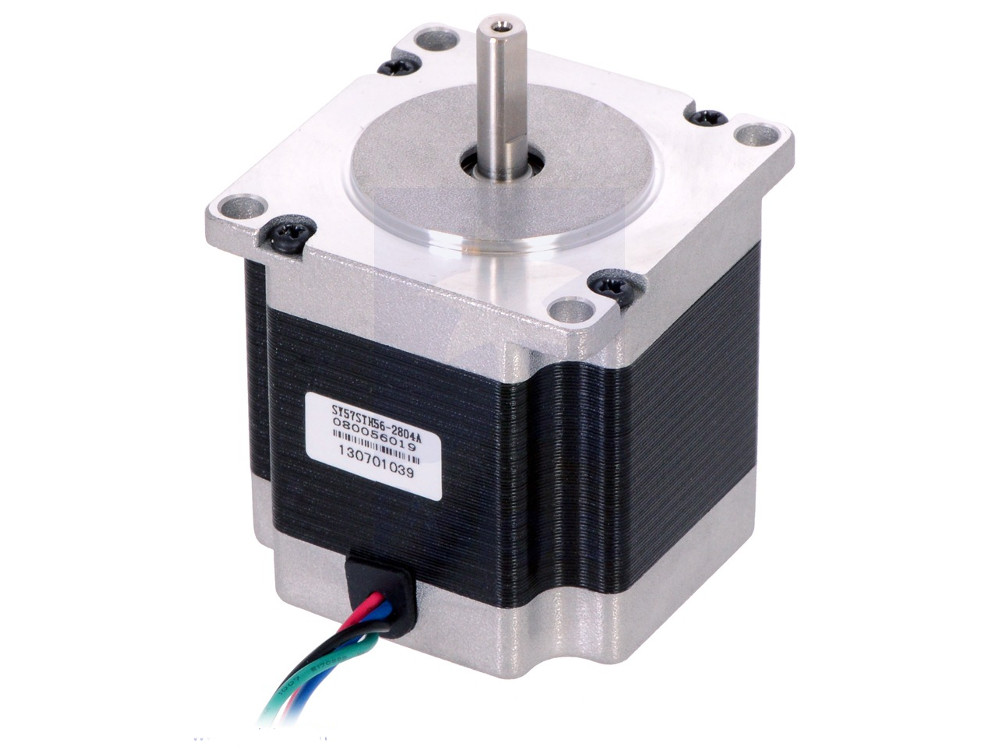 Stepper motor nema 23 200 steps 57x56mm unipolar bipolar for Unipolar and bipolar stepper motor
