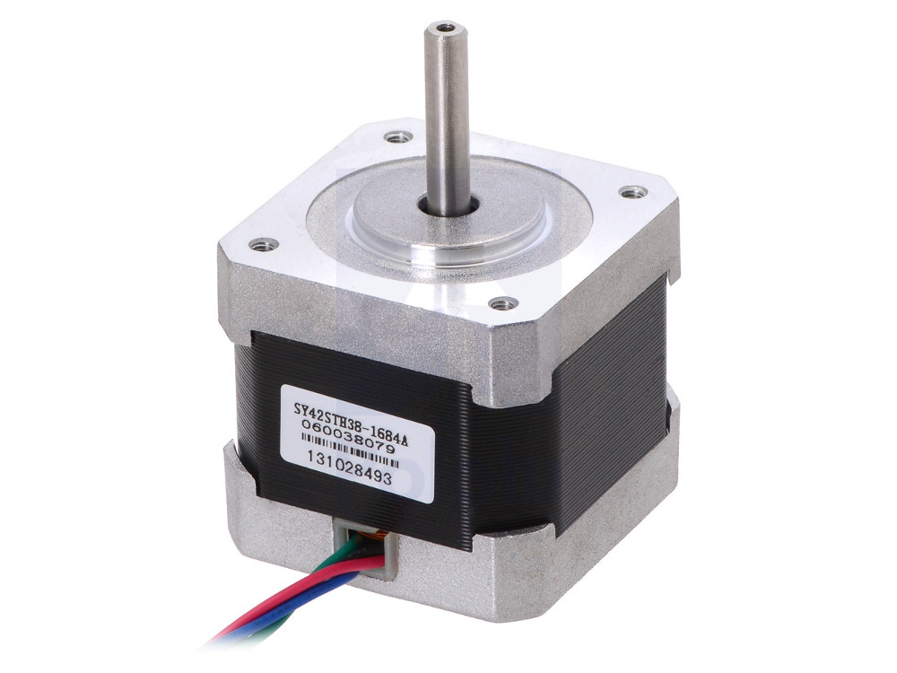 Stepper motor nema 17 200 steps 42x38mm bipolar for Nema 17 stepper motor datasheet