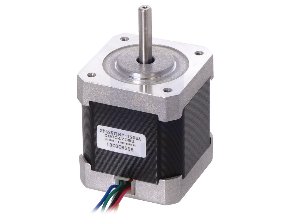 Stepper motor nema 17 200 steps 42x48mm unipolar bipolar for Unipolar and bipolar stepper motor