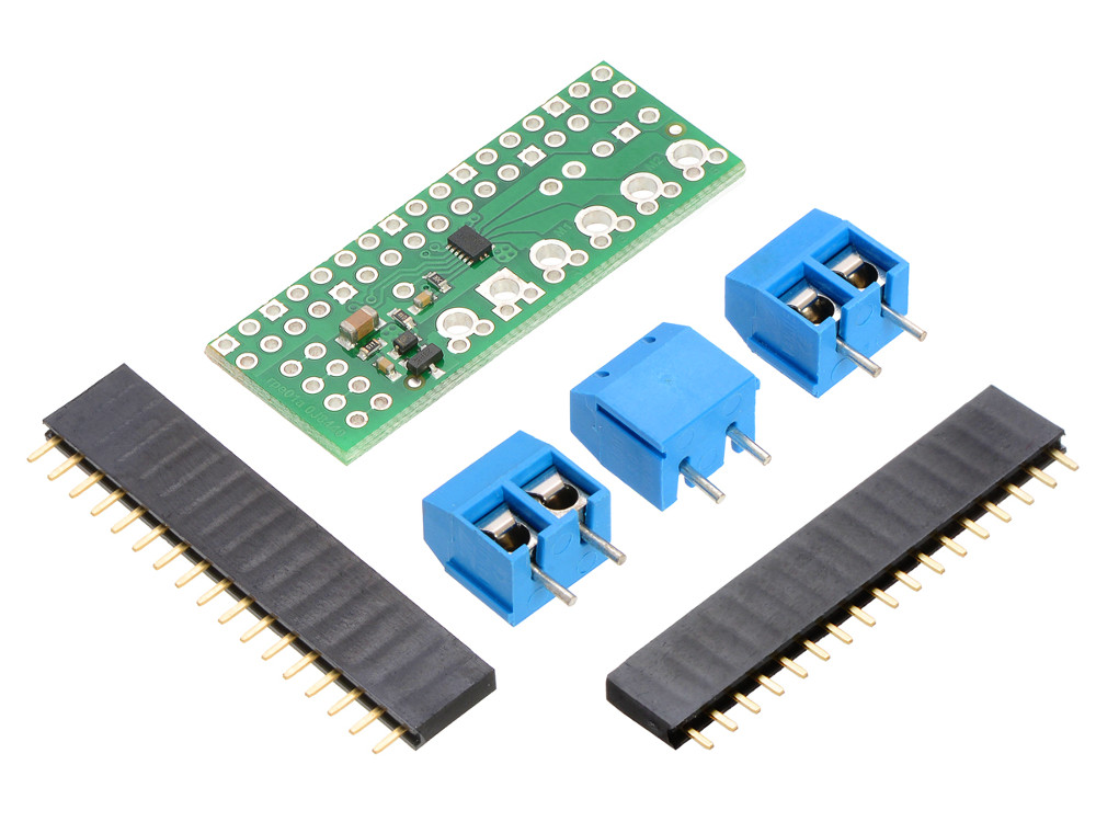 Pololu drv8835 dual motor controller for raspberry pi b for Raspberry pi stepper motor controller