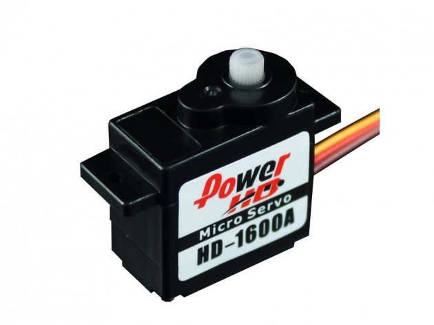 Micro Servomoteur Power HD HD-1600A