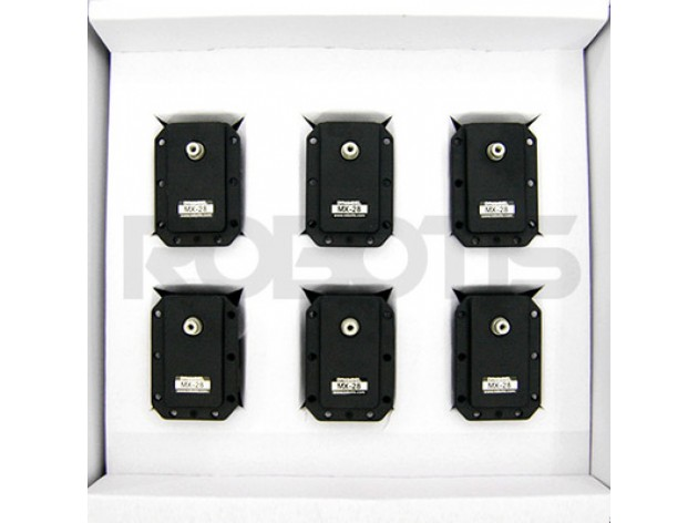 Ensemble Dynamixel MX-28T 6pcs