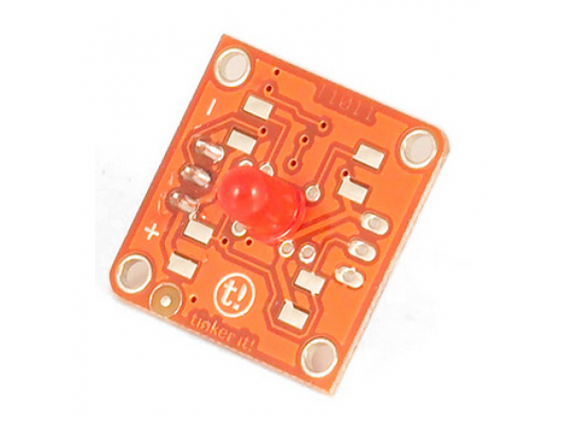 TinkerKit module DEL rouge 5 mm